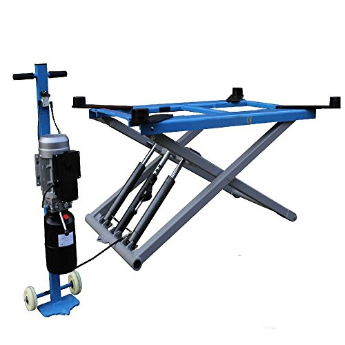 6200 lb. Rise Scissor Automotive Lift HYDRAULIC Movable LIFT NEW ARRIVAL / 12 Month Warranty ()