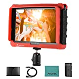 LILLIPUT A7s 7inch 1920 1200 FHD IPS Screen Camera Field Monitor Display with HD IN OUT Support 4K Signal 1000:1 High Contrast 500cd/㎡ Brightness Silicon Cover for Canon Nikon Sony DSLR