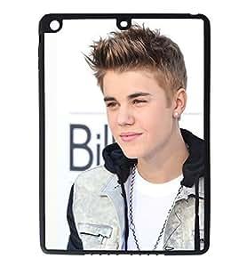 iPad Air Rubber Silicone Case - Justin Bieber Face Cute Boyfriend