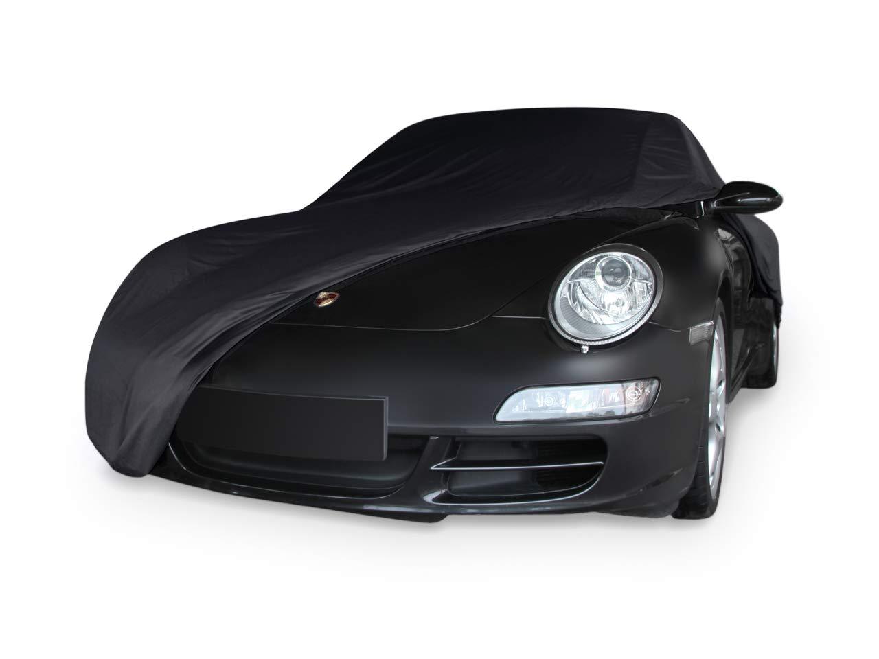 997 Color Negro Autoabdeckung Funda Suave para Porsche 911 996