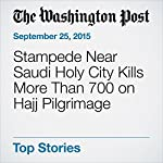 Stampede Near Saudi Holy City Kills More Than 700 on Hajj Pilgrimage | Loveday Morris,Mustafa Salim,Brian Murphy