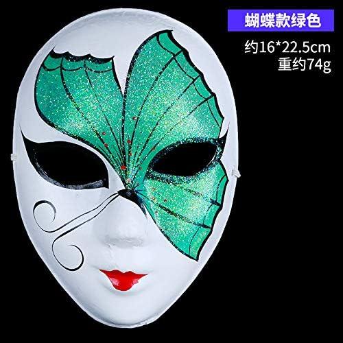 DHLZ Máscara Decorativa Máscara de Disfraces Mujer Cara Completa ...
