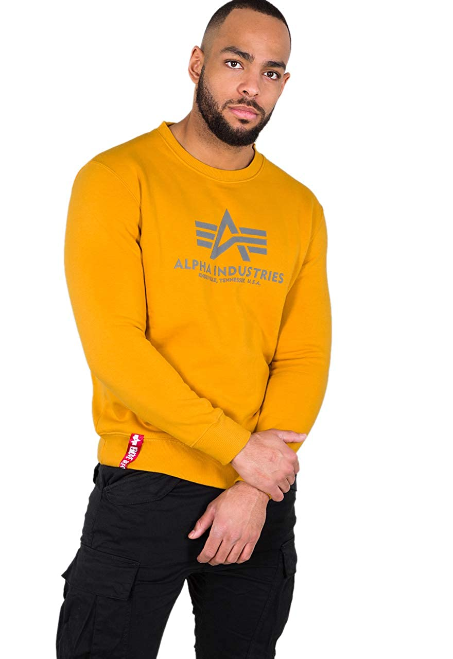 Alpha Industries Herren Pullover Basic Sweater B07N41Y4NK Pullover Pullover Pullover Bequeme Berührung feae2d