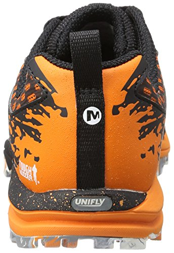 Out Tough Merrell Trail EU Orange Crush All Noir Chaussures de Femme Mudder 38 5q4xZgBw4