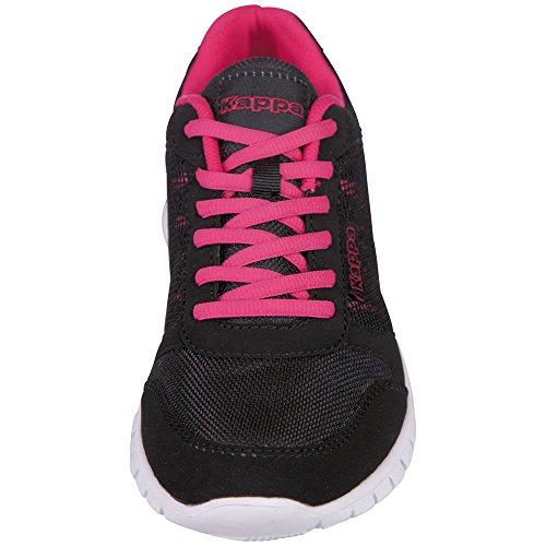 Adulte Black Basses Baskets Stay Noir Pink Kappa 1122 Mixte 0qxHwIEEZ