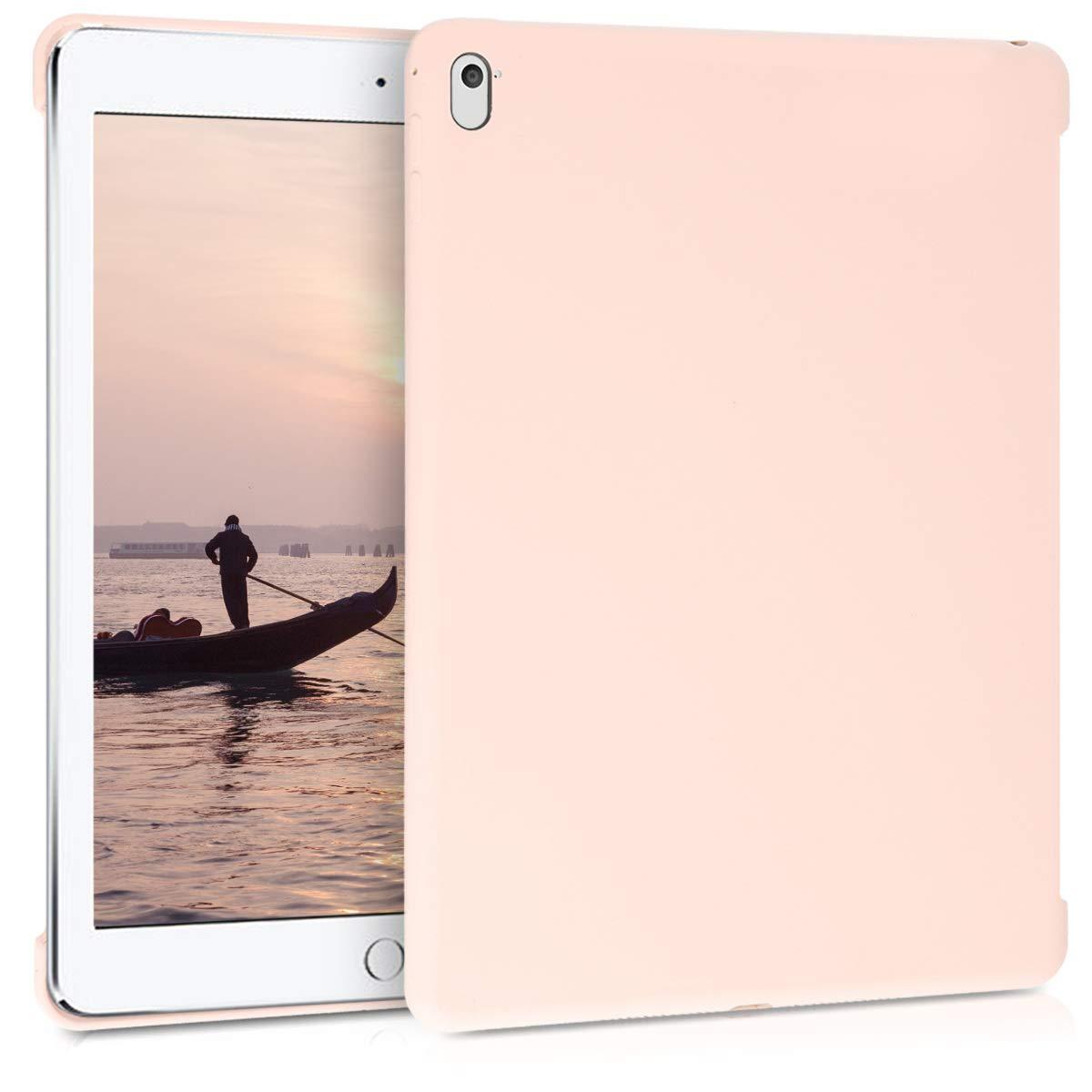 kwmobile TPUシリコンケース Apple iPad Air 2用 - ソフトスマートカバー互換保護カバー - ブラック ピンク 46691.10  .antique pink B07LCQL1S8