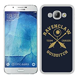 Fashionable A8 Case,Ravenclaw White Phone Case For Samsung Galaxy A8 Case