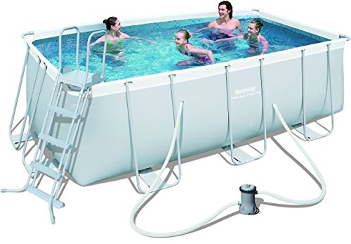 Bestway Frame Pool Power Steel Set, 412 x 201 x 122 cm