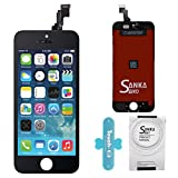 SANKA LCD Screen Display Touch Screen Digitizer Glass Frame Assembly Replacement Repair Kits with Tools for iPhone 5C