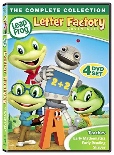 Leap Frog Letter Factory Adventures [DVD] (Leapfrog Set)