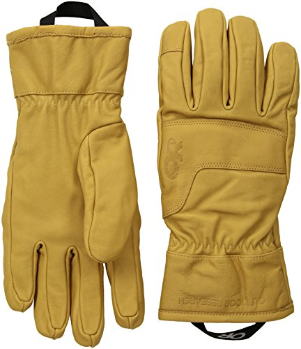 Outdoor Research Aksel Work Gloves, Natural, X-Small