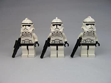 Buy Lego Star Wars Episode 3 Clone Trooper Lot X3 Minifigures Online At Low Prices In India Amazon In