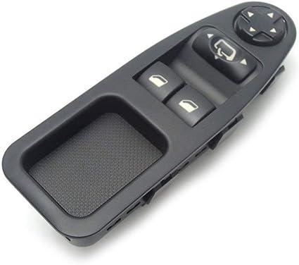 Semoic 6554.Zj Interruptor de Ventana con Fuente de Alimentaci/ón para Fiat Scudo Citroen Jumpy Peugeot Expert 07