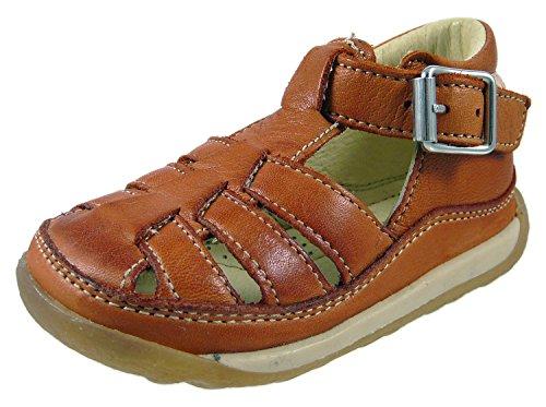 Naturino - Sandalias de vestir de Piel para niño - Braun (Ocra 9113)