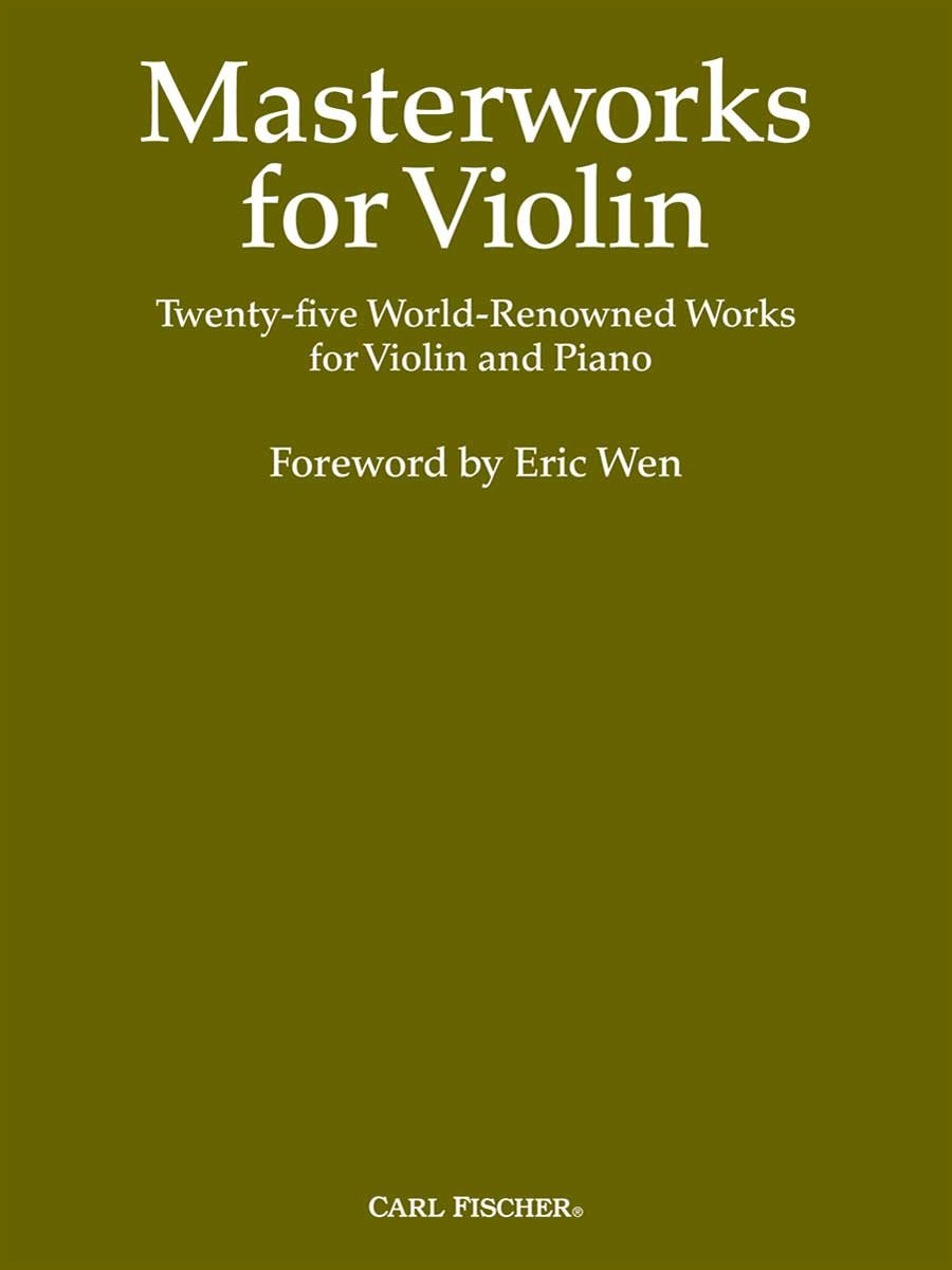 BF29 - Masterworks for Violin ebook