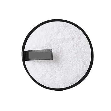 Almohadillas desmaquillantes de microfibra Paño Maquillaje Remover Paño Desmaquillante Toalla Desmaquillante Facial Microfibra Lavable Reutilizable ...