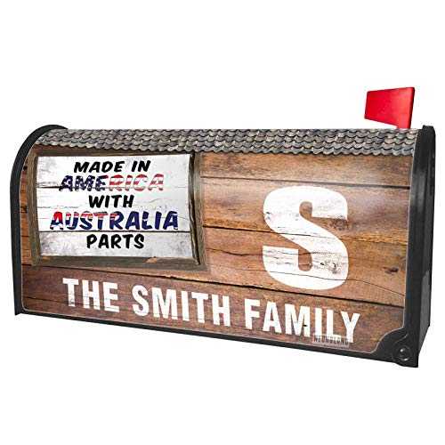 NEONBLOND Custom Mailbox Cover Made in America with Parts from Australia -