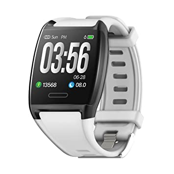 Tianya Reloj de presión arterial V2 Smart Watch Sport Fitness Activity Heart Tracker (Negro, Rojo, Blanco): Amazon.es: Bricolaje y herramientas
