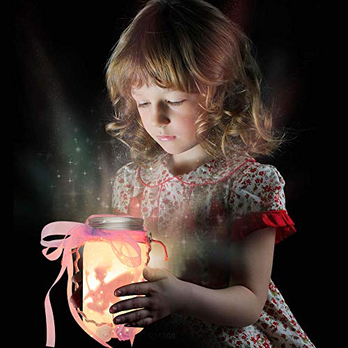 Alritz Fairy Lantern Craft Kit for Kids – Gift for Girls Ages 4-12 – Flicking Candle Night Lights Craft Projects Party…
