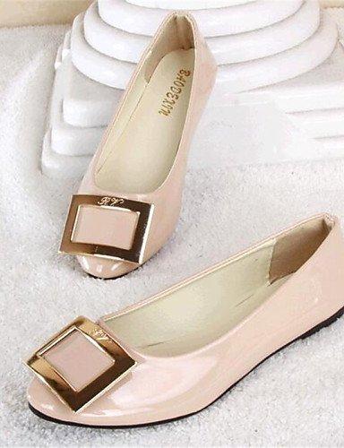 negro PDX us5 de rosa libre mujer comodidad uk3 eu35 zapatos black cn34 piel Beige sintética aire plano Casual al talón pisos de azul AAnrqx6wH