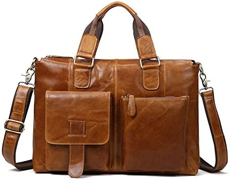608ecd1c8a20 Amazon.com: Amyannie Laptop Messenger Bag Mens Leather Satchel ...