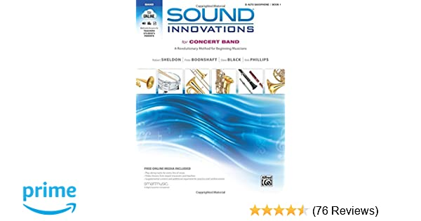 Amazon Sound Innovations For Concert Band Bk 1 A