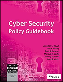 Book Cyber Security Policy Guidebook