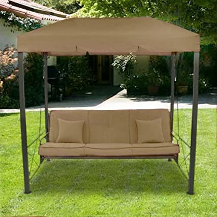 Superbe Open Box   Outdoor Patio Gazebo Swing Replacement Canopy   Standard 350  Fabric