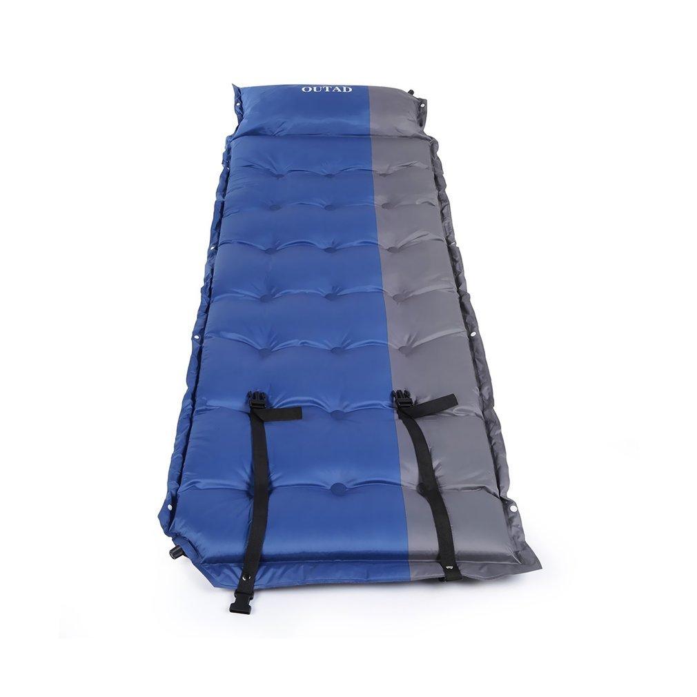 OUTAD automatisch aufblasbaren Matratze wasserdichte Luftbett mit Kostenlosen Kissen