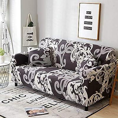 Super Pcsacdf White Blue Plaid Colors Sofa Cover Elastic Cotton Theyellowbook Wood Chair Design Ideas Theyellowbookinfo