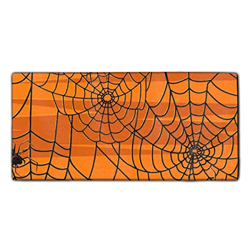 Decorative Bathroom Hand Towels Scary Halloween Custom Towels for Guests 11.8 X 27.5 inch ()