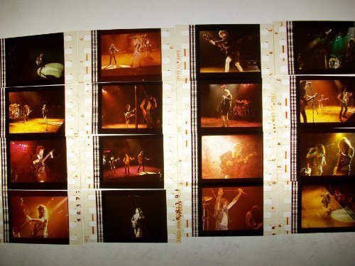 ACDC Bon Scott Angus Young Lot of 12 35mm Movie Film Cells cinema theater
