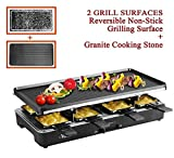 Best Raclette Grills - Artestia Electric Raclette Party Grill with Two Top Review