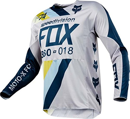 Fox Racing 360 Draftr Light Grey Jersey/ Pant Combo - Size X-LARGE/ 36W
