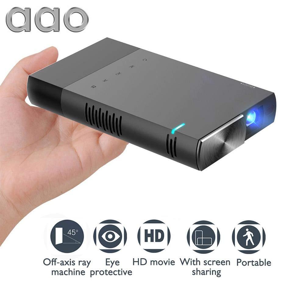 StageOnline Videoproyector portátil, Aao S1 Mini Proyector ...