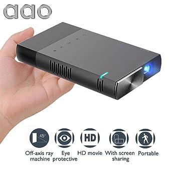 StageOnline Videoproyector portátil, Aao S1 Mini Proyector HD ...
