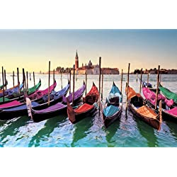 "Venice, Italy - Poster / Print (Gondolas) (Size: 36"" x 24"") (Poster & Poster Strip Set)"