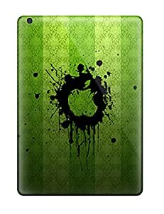 New Style Tpu Air Protective Case Cover/ Ipad Case - Green Apples by icecream design