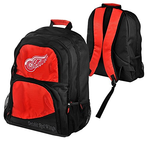 Forever Collectibles Detroit Red Wings High-End NHL Rucksack