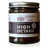 High Octane Coffee Spice Rub & Steak Seasoning by Wayward Gourmet - Dry Coffee Rub for Steak, Brisket, Roasts, Ribs, Chili, Meat, Pork, BBQ & Grilling - Made in USA - No Preservatives - 5.5 oz
