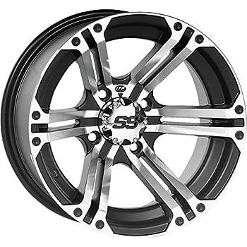 Amazon Com Itp Ss Alloy Ss212 Black Wheel With Machined Finish