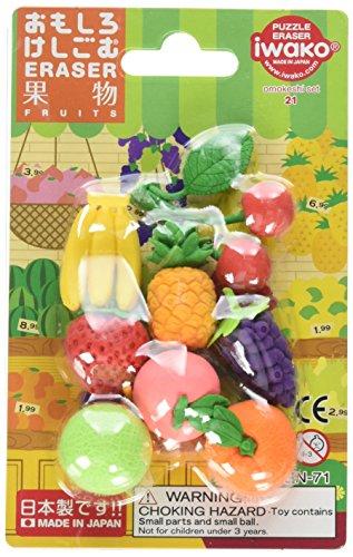 Iwako Japanese Fruit Eraser - Puzzle Iwako Japanese