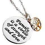 Inspirational Necklace for Women Teen Girls - 18K