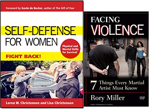 Bundle: Self-Defense for Women Book by Loren W. Christensen / Facing Violence DVD by Rory Miller (YMAA)
