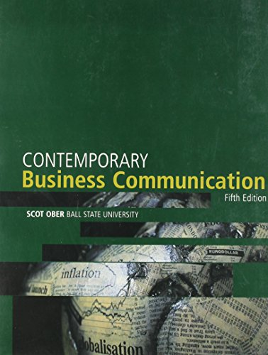 Business Communication, Custom Publication