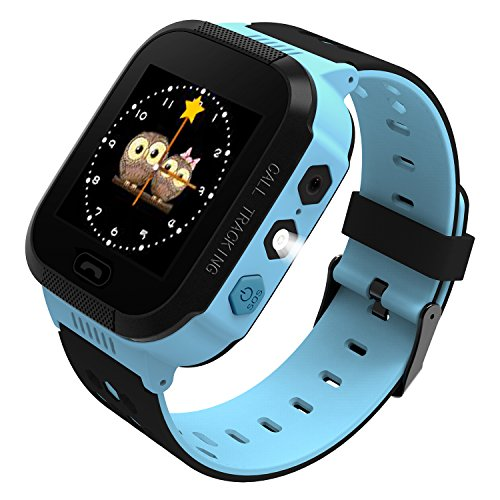 (B.B.PAW  Kids Smart Watch, Phone Watch Location Tracker SOS Timer Alarm Clock Camera Pedometer Calculator 1.44