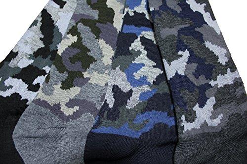 FERETI Chaussettes Hommes Militaire Camouflé Urban Camouflage Cam Jungle Style D'hiver Classique 5