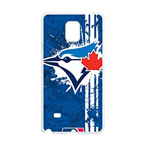 JIANADA Toronto Blue Jays New Style High Quality Comstom Protective Case Coverr For Samsung Galaxy Note4