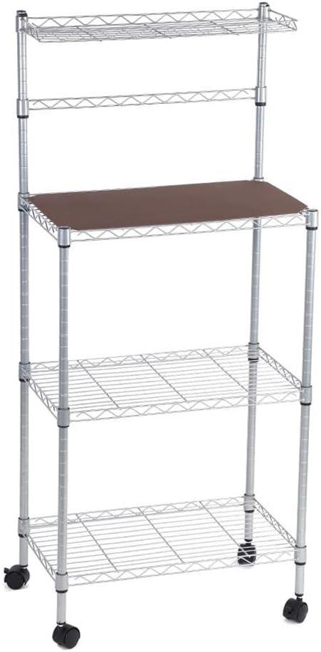 Carro de almacenamiento, estante para panadería de 3 niveles para ...