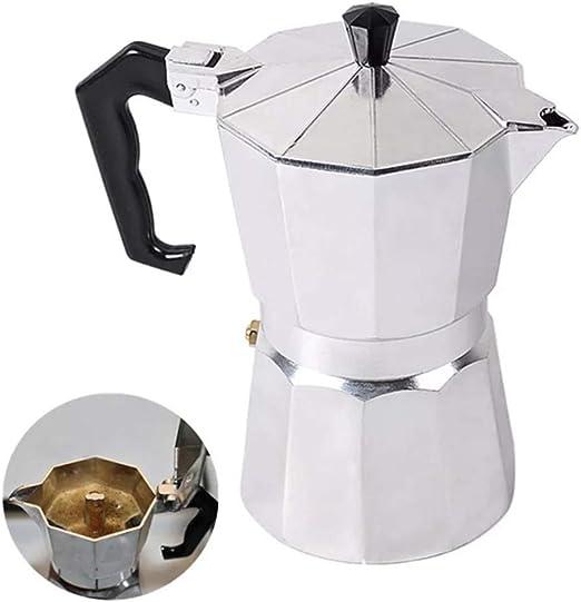 Sucastle 150ml / 300ml / 450ml de Aluminio Cafetera Italiana Mocha ...
